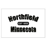 Northfield Established 1855 Large Poster