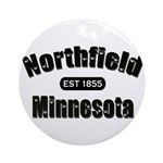 Northfield Established 1855 Ornament (Round)