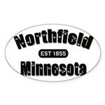 Northfield Established 1855 Sticker (Oval)