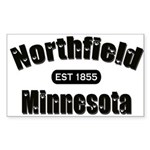 Northfield Established 1855 Sticker (Rectangle)