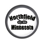 Northfield Established 1855 Wall Clock