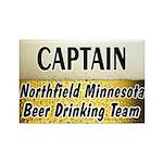 Northfield Beer Drinking Team Rectangle Magnet