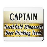 Northfield Beer Drinking Team Mousepad