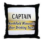 Northfield Beer Drinking Team Throw Pillow