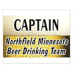 Northfield Beer Drinking Team Small Poster