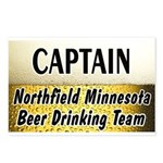 Northfield Beer Drinking Team Postcards (Package o
