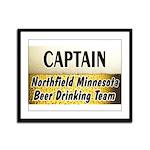 Northfield Beer Drinking Team Framed Panel Print