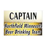 Northfield Beer Drinking Team Mini Poster Print