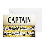 Northfield Beer Drinking Team Greeting Card