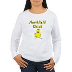 Northfield Chick Shop Women's Long Sleeve T-Shirt