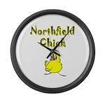 Northfield Chick Shop Large Wall Clock