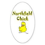 Northfield Chick Shop Sticker (Oval 50 pk)