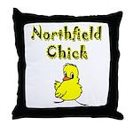 Northfield Chick Shop Throw Pillow