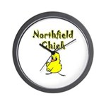 Northfield Chick Shop Wall Clock