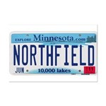 Northfield License Plate Mini Poster Print