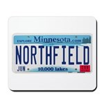 Northfield License Plate Mousepad
