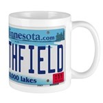 Northfield License Plate Mug