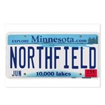 Northfield License Plate Postcards (Package of 8)