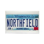 Northfield License Plate Rectangle Magnet (100 pac