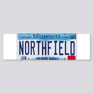 Northfield License Plate Sticker (Bumper)