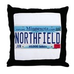 Northfield License Plate Throw Pillow