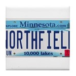 Northfield License Plate Tile Coaster