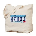 Northfield License Plate Tote Bag