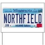 Northfield License Plate Yard Sign