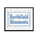 Northfield Minnesnowta Framed Panel Print