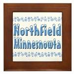 Northfield Minnesnowta Framed Tile