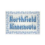 Northfield Minnesnowta Rectangle Magnet