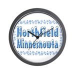 Northfield Minnesnowta Wall Clock