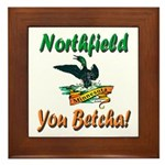 Northfield Loon Framed Tile