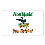 Northfield Loon Sticker (Rectangle 10 pk)