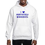 I Love Northfield Hooded Sweatshirt