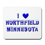 I Love Northfield Mousepad