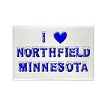 I Love Northfield Rectangle Magnet