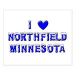 I Love Northfield Small Poster