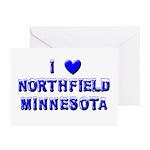 I Love Northfield Greeting Cards (Pk of 10)