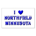 I Love Northfield Sticker (Rectangle 50 pk)