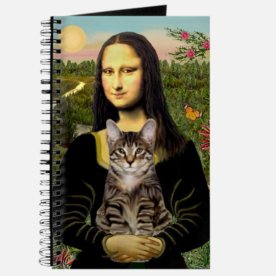 Mona Lisa & her Tiger Cat Journal