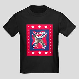 catahoula southern rebel Kids Dark T-Shirt