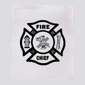 Fire Chief Throw Blanket
