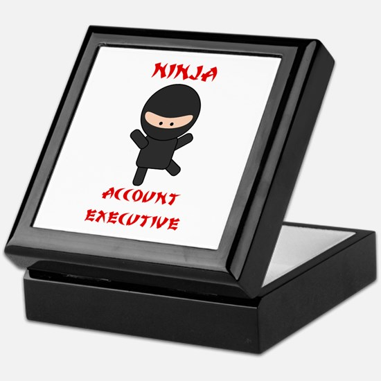 Ninja Account Executive Keepsake Box