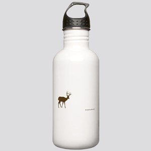 """Metro Forest Deer"" Stainless Water Bottle 1.0L"