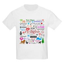Twilight Memories Kids Light T-Shirt