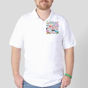 Twilight Memories Golf Shirt