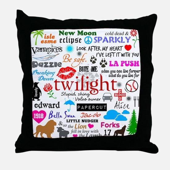 Twilight Memories Throw Pillow