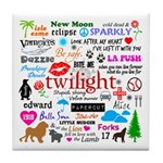 Twilight Memories Tile Coaster
