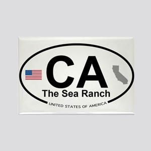 The Sea Ranch Rectangle Magnet